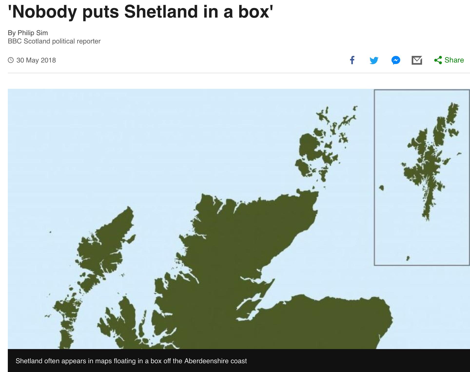 Shetland Islands joint employment
