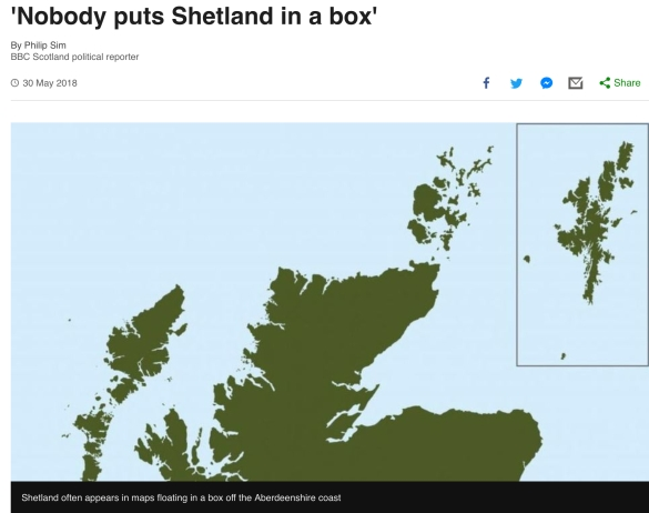 Shetland Islands joint employment