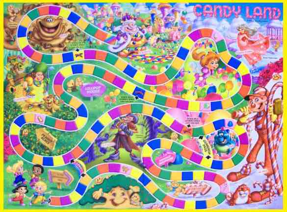 Dynamex ABC Test Candy Land